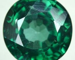 2.90 Cts Rare Green Topaz Round Cut Brazil Gem