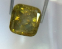 NATURAL GREENYELLOW -DIAMOND,  1.05CTWSIZE,1PCS