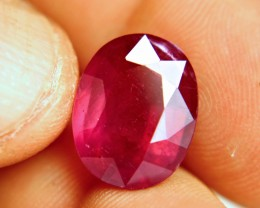 12.62 Carat Fiery Red Ruby - Gorgeous