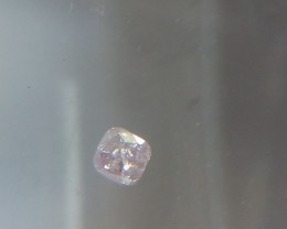 NATURAL FANCYPINKPURPLE DIAMOND,0.20CTW,1PCS