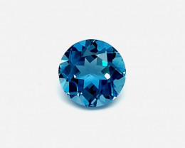 8MM R 2.50 CT LONDON BLUE TOPAZ GEMSTONES FOR SALE