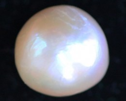18.25 cts  Ivory/Apricot Pearl  PPP 661