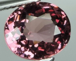 2.75 Cts EXQUISITE NATURAL UNHEATED PINK OVAL MALAYA GARNET