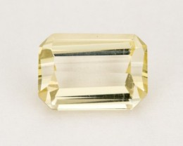 2ct Oregon Sunstone, Clear Rectangular Step (S134)