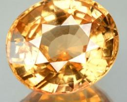 6.29 Cts Natural Imperial Orange Hessonite Garnet Oval Cut Srilankan Gem