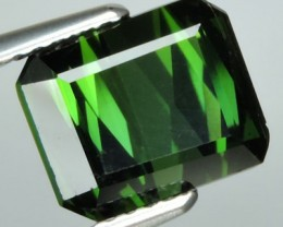 4.30 CTS BEAUTIFUL RARE NATURAL TOP GREEN TOURMALINE MOZAMBIQUE $522.00