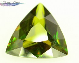 Natural Sphene 2.5 ct Great Color Dispersion From Himalayan Range