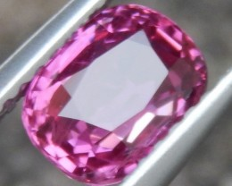 1.54cts, Pink Sapphire of Thailand,  Eye Clean,