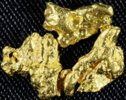 1.7 Grams  3 Kalgoorlie Gold Nuggets, Australia LGN 1519