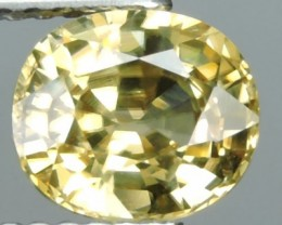 2.15 CTS AWESOME SPARKLE NATURAL NR..BEST YELLOW-ZIRCON