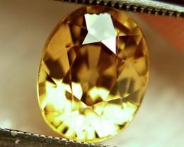 4.53 Carat VVS1 Southeast Asian Golden Zircon - Superb