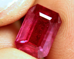4.07 Carat Fiery Red Ruby - Gorgeous