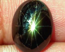 6.58 Carat 12 Star Thailand Sapphire - Superb