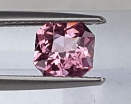 1.01cts,  Pink Spinel,   100% Untreated,  VVS1 Eye Clean,  Top Cut, Calibra