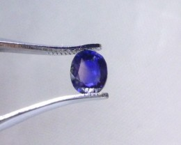0.36ct Burmese Blue Sapphire , 100% Natural Untreated Gemstone