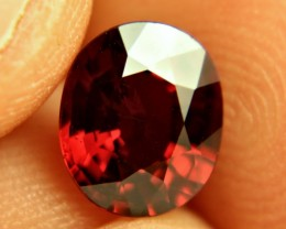 2.97 Carat VVS1 Orangy Red Spessartite Garnet - Superb