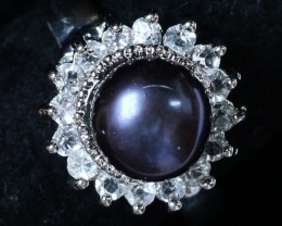 8 mm Pearl Ring size 10.5 PPP 831