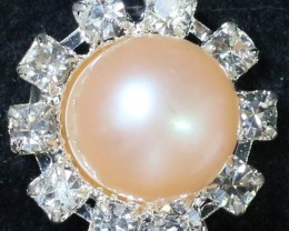 8 mm Pearl Ring size 7 PPP 840