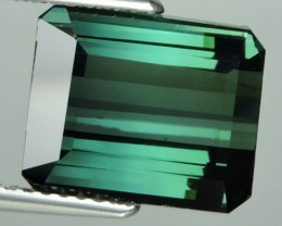private auction 5.35 CTS  AMAZING NATURAL RARE LUSTROUS GREEN TOURMALINE