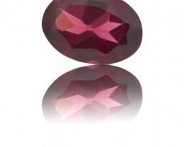 0.9 ct  Oval Rhodolite Garnet Origin: Kenya Beautiful Bright Garnet