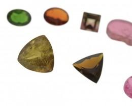 68.38 cts 80 Stones Tourmaline Parcel Beautiful Untreated Brazilian Tourmal