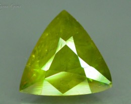 2.05 ct Natural Sphene Great Color Dispersion From Himalayan Range