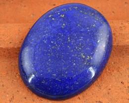 Genuine 67.75 Cts Oval Shape Blue Lapis Lazuli Cab