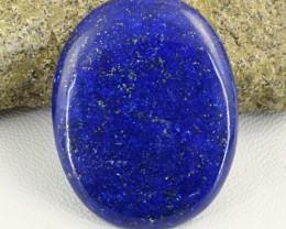 Genuine 51.50 Cts Oval Shape Blue Lapis Lazuli Cab