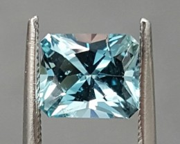 1.14 CT AQUAMARINE - MASTER CUT!  STRONG BLUE COLOR!