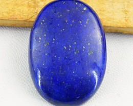 Genuine 55.15 Cts Blue Lapis Lazuli Oval Shape Cab