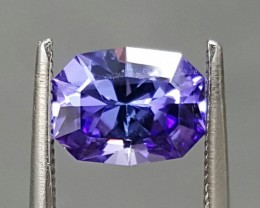 1.15 CT TANZANITE - MASTER CUT!  SAPPHIRE COLOR!