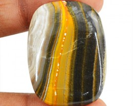 Genuine 36.05 Cts Bumble Bee Jasper Cab
