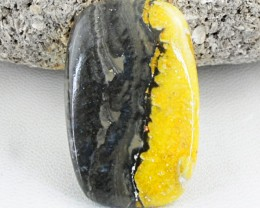 Genuine 37.00 Cts Untreated Bumble Bee Jasper Cab