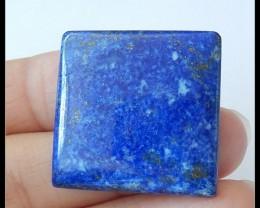 39.5Ct Natural Lapis Lazuli Gemstone Cabochon