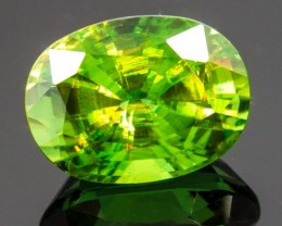 5.06 CT SPHENE - MUSEUM QUALITY!  MASTER CUT!