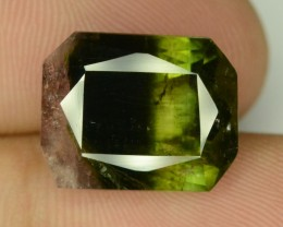 11.10 ct TriColor Tourmaline ~ Afghanistan