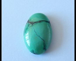 13Ct Natural Turquoise Gemstone Cabochon Bead Rare Stone (A53)