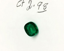 2.98 ct. Colombian Emerald (Excepcional)
