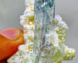 336.75 cts~Superb Kunzite VS  Tormaline combine Crystal Specimen