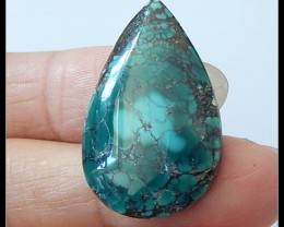 17.5Ct Natural Turquoise Gemstone Cabochon