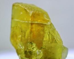 51.00 ct~100% Natural Unheated New Find Shigar Green Beryl Crystal(Never Se