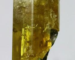 164.0 ct~100% Natural Unheated New Find Shigar Green Beryl Crystal(Never Se