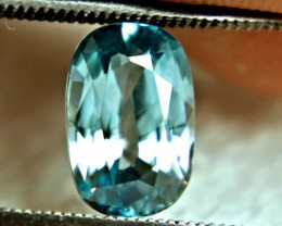 3.87 Carat Southeast Asian VVS Zircon - Gorgeous