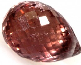 1.8 CTS VS Ruby Briolette Bead ANGC-634