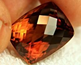 1$NR - 34.36 Carat VVS Elegant Brown Brazil Topaz - Gorgeous