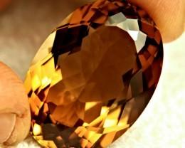 86.0 Carat VVS1 Brazil Golden Topaz - Superb
