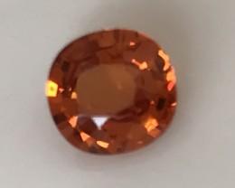 Fanta Orange Spessartite Garnet VVS No Reserve