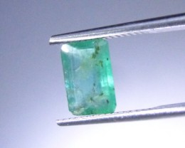 1.55cts Zambian Emerald , 100% Natural Gemstone