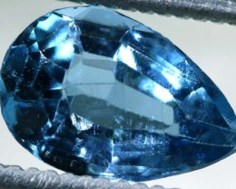 BLUE TOPAZ NATURAL FACETED 1.35  CTS PG-1868