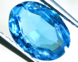 BLUE TOPAZ NATURAL FACETED 0.75 CTS PG-1874